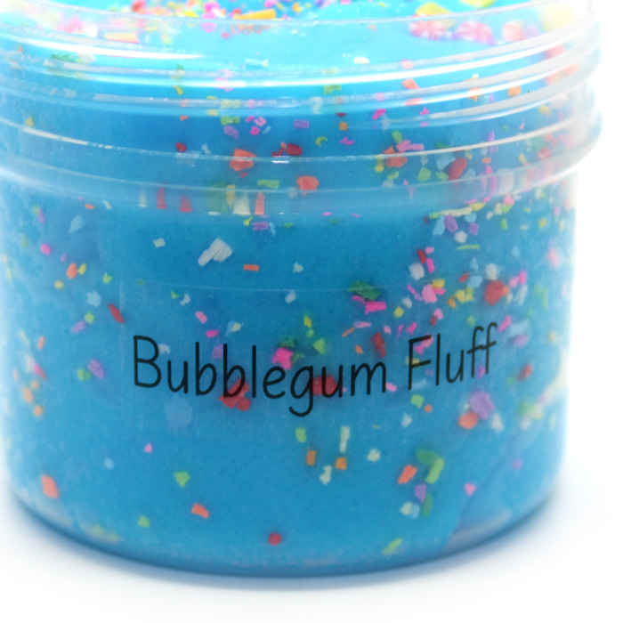Bubblegum fluff scented cloud slime
