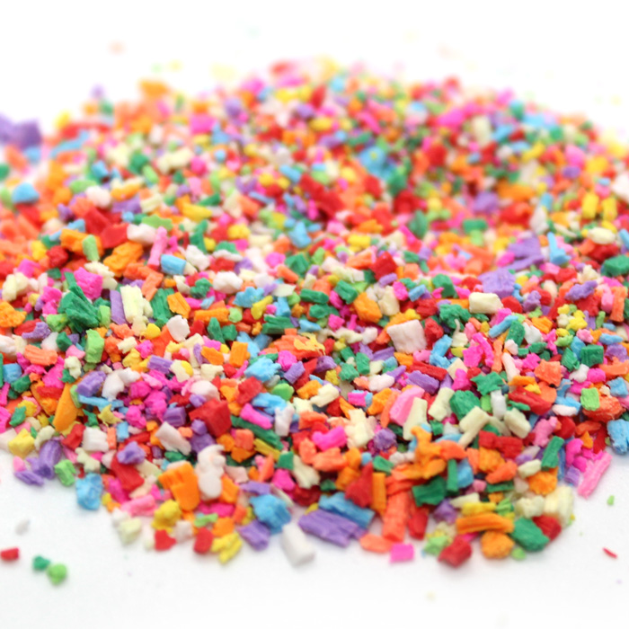Candy shavings for slime