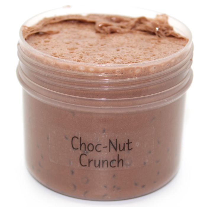 Choc-Nut Crunch Clay slushee slime