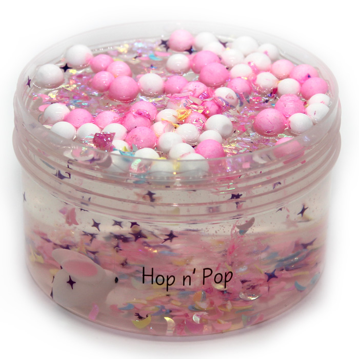 Hop n Pop clear slime