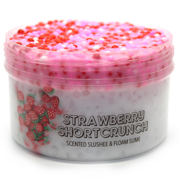Strawberry Shortcrunch scented slime