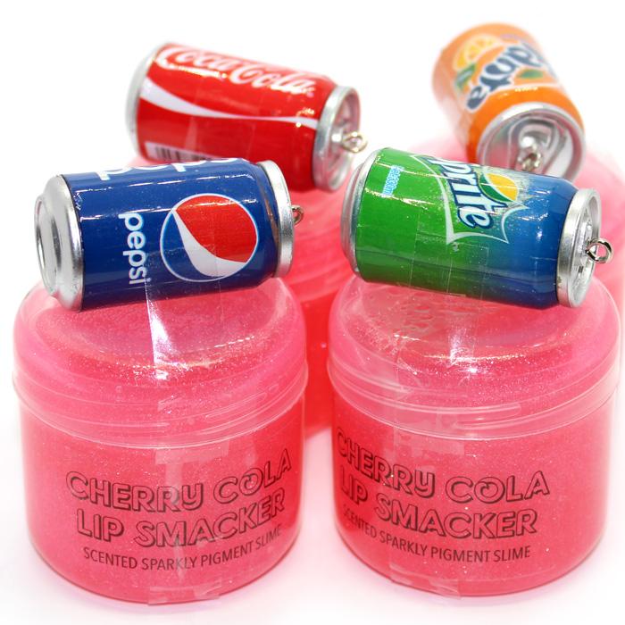 Cherry Cola Lip smacker pigment scented slime