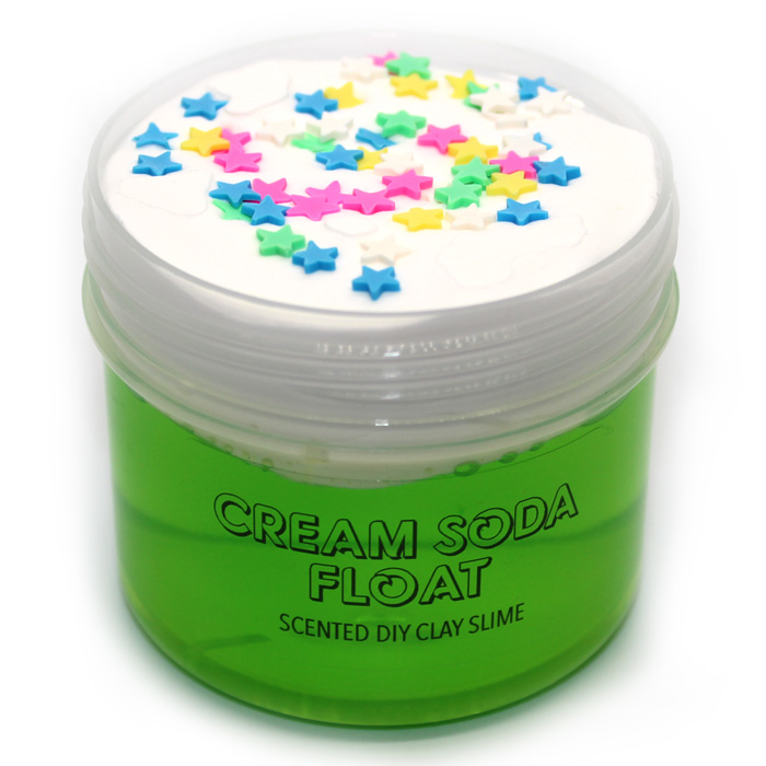 Cream Soda float scented diy clay slime
