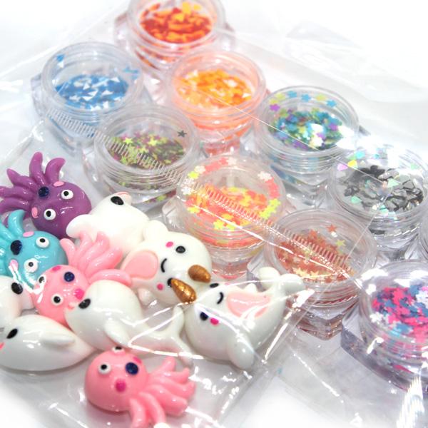 Crunchy DIY slime party kit