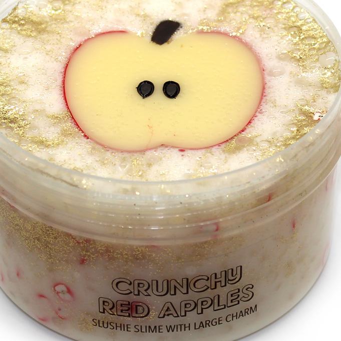 Crunchy red Apples slushee slime