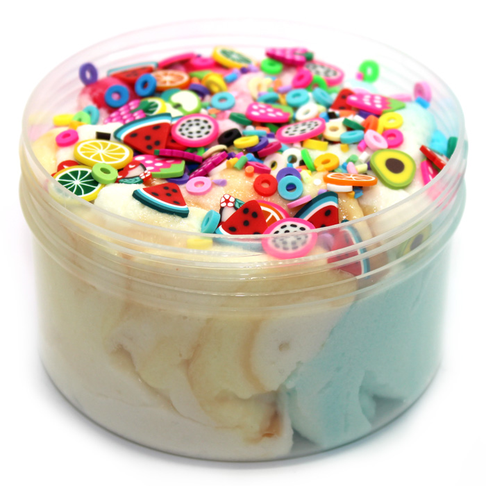 Froyo Slime bar mix scented cloud creme slime