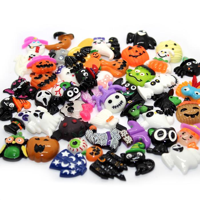 Halloween Slime Charms 5pcs