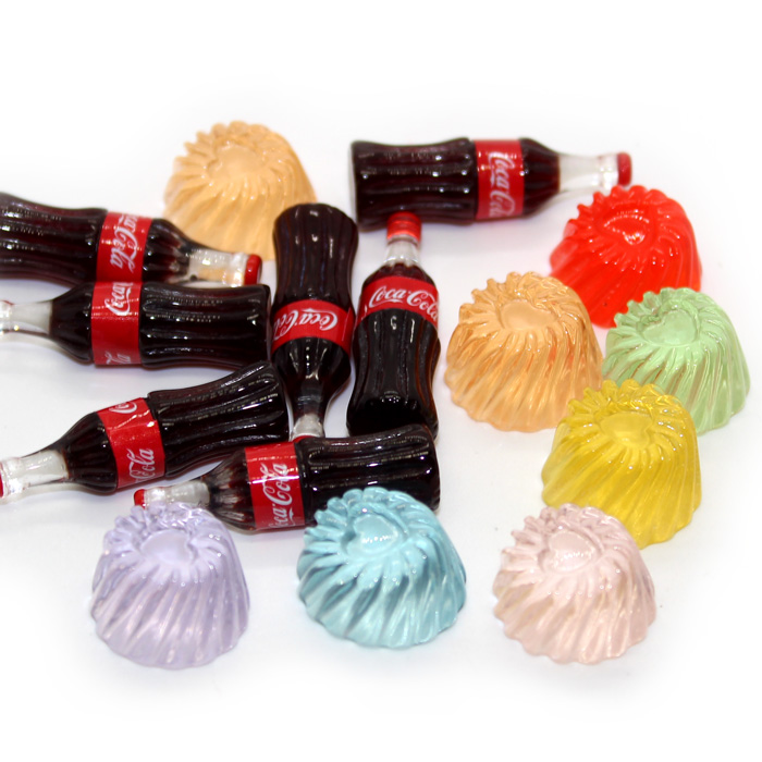 Jelly and Coke charms 3pc