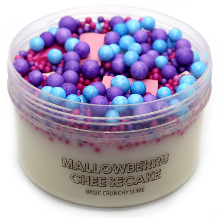 Mallowberry Cheesecake scented slime