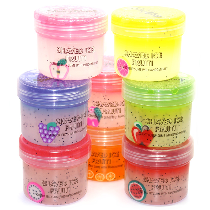 Shaved ice Fruiti scented Jelly Slime