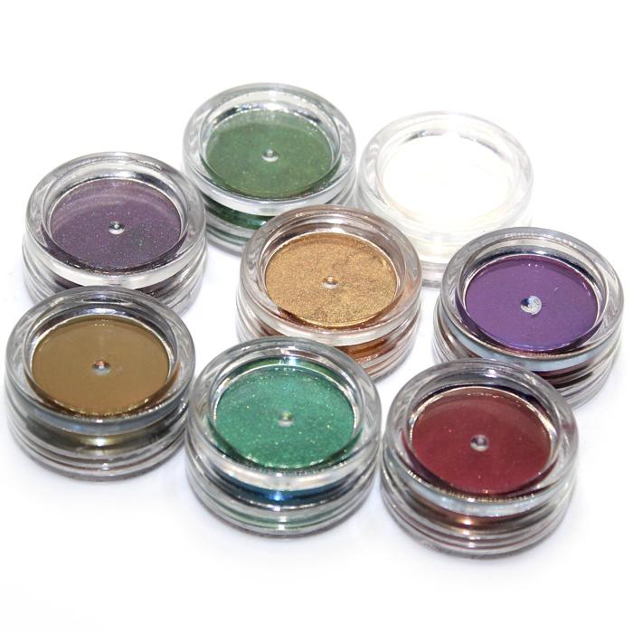 Metalic and colourshift Pigment powder