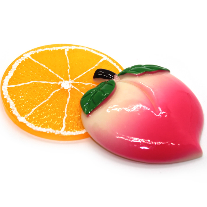 Jumbo Fruit Charms 2pc