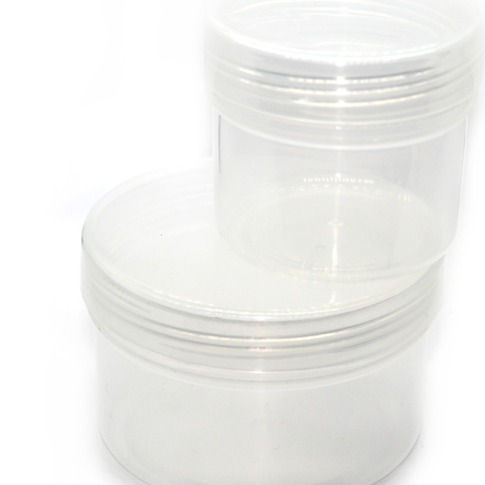 Plastic slime tubs