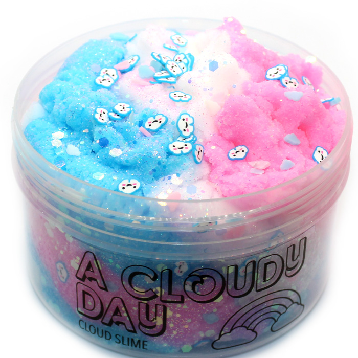 A Cloudy day cloud slime
