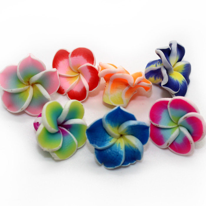Flower charms for slime