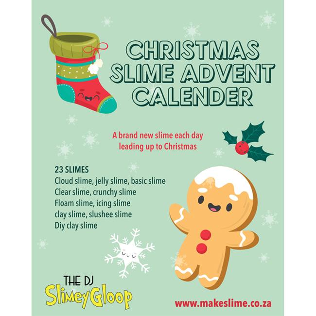 Christmas Slime Advent Calender