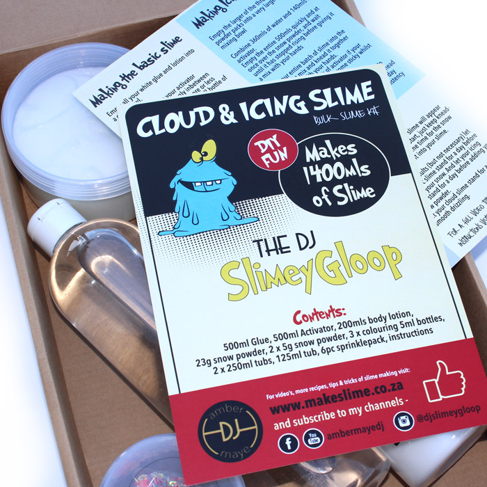 Icing And Cloud DIY Slime Kit Buy Online South Africa Shipping