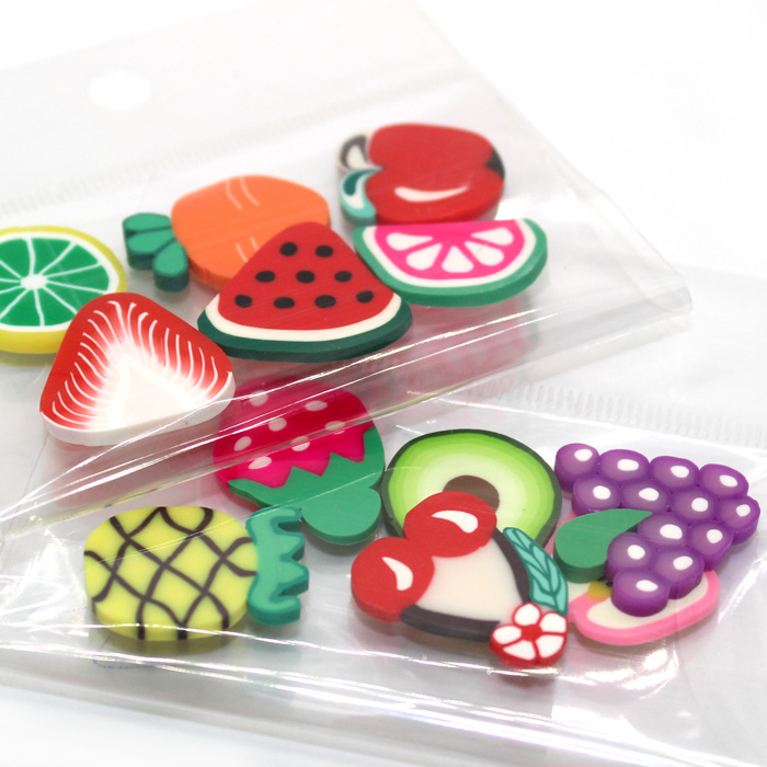 Jumbo fruit fimo charms for slime