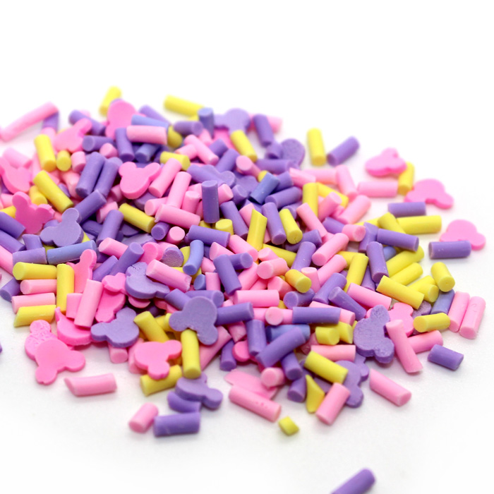 Mini mouse sprinkle mix for slime