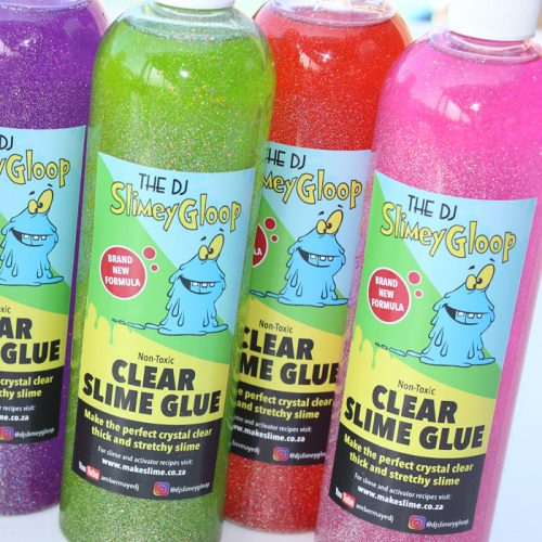 Coloured clear base Slime glue 500ml