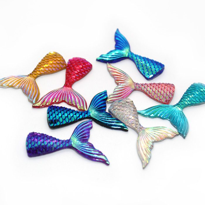 Mermaid tail charms