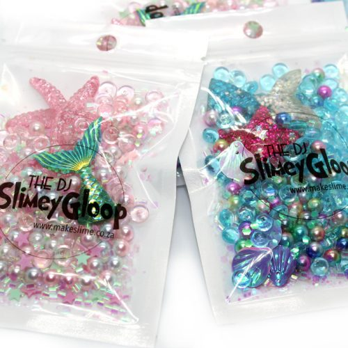 Mermaid and Starfish design mix for slime
