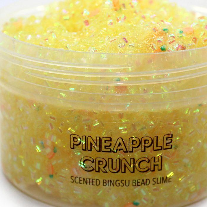 pineapple crunch bingsu bead slime