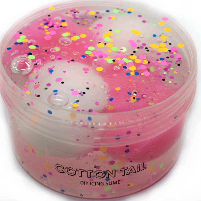 Cotton Tail diy jelly icing slime