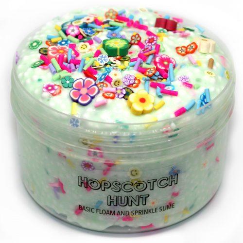 Hopscotch Hunt crunchy floam slime