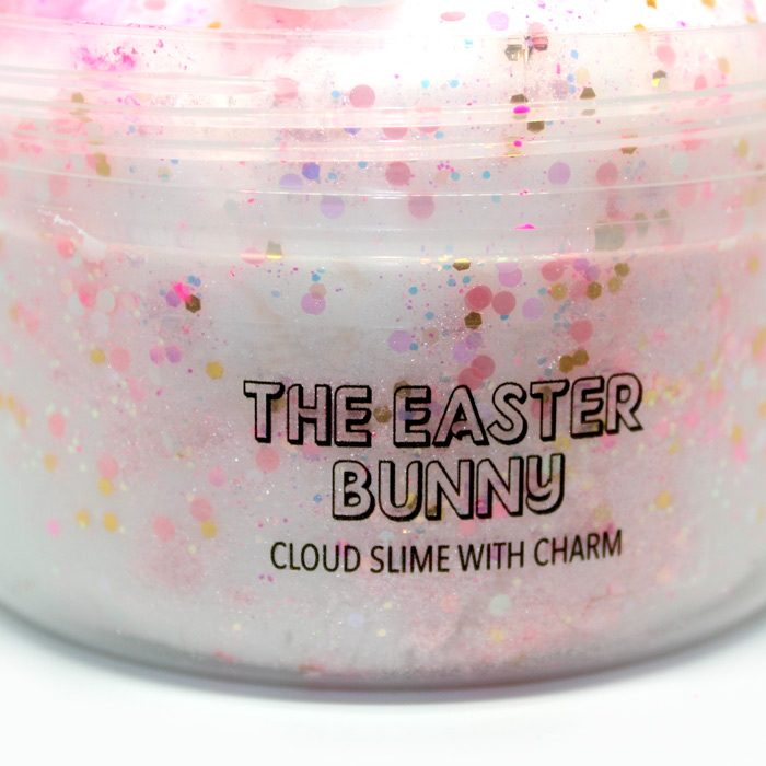The Easter bunny cloud slime