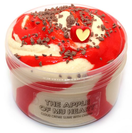 Apple of my heart cloud creme slime