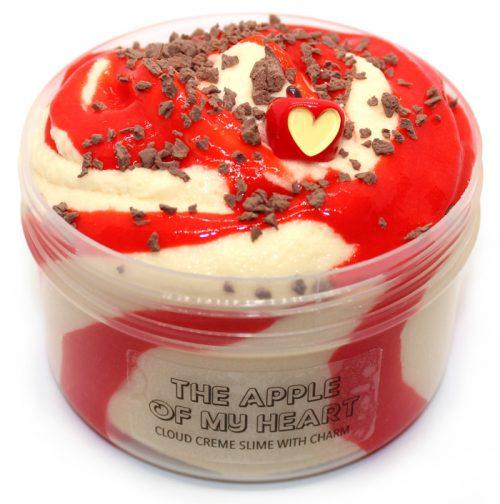 Apple of my heart cloud creme slime