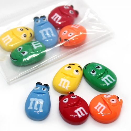 Fruiti mnm charms 5pc