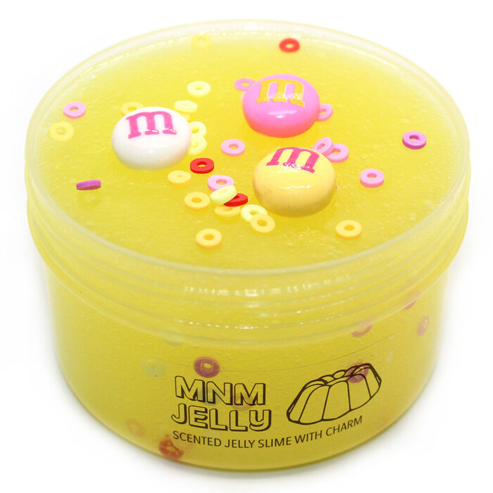MnM scented jelly slime