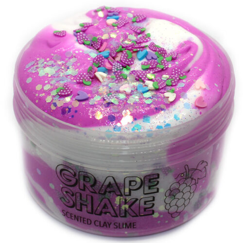 grape shake clay slime