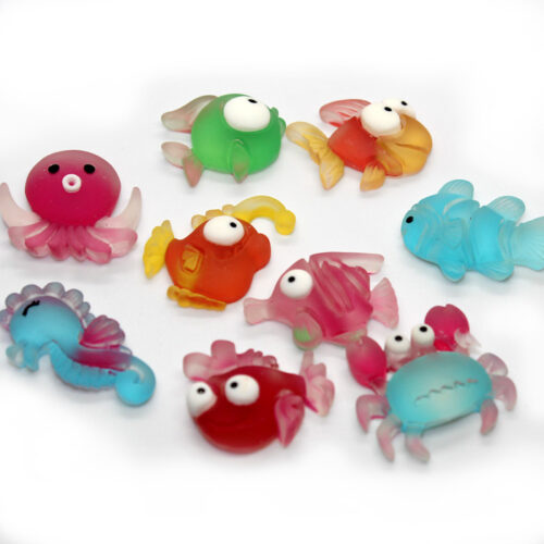 Sea creature charms for slime