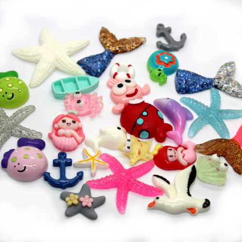 By the sea charms for slime