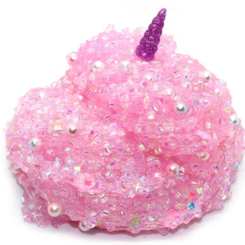Unicorn horns and flowers bingsu bead slime