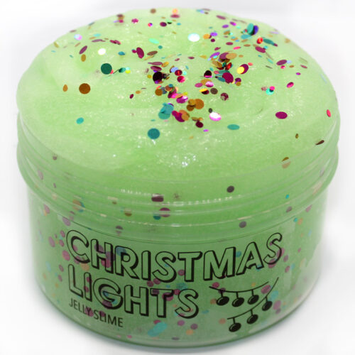 Christmas lights jelly slime
