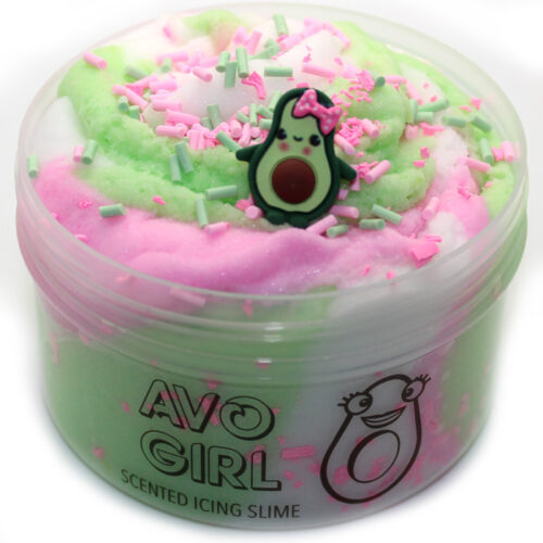 Avo girl scented icing slime