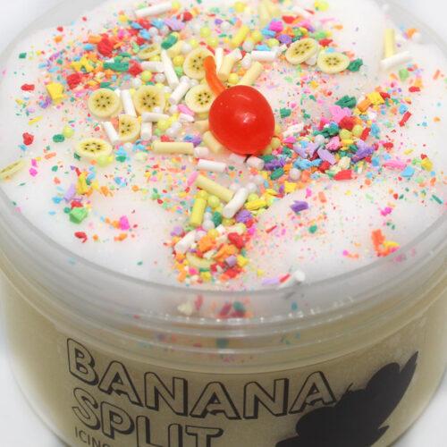 Banana split scented icing slime
