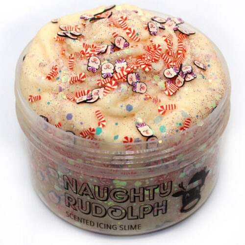 Naughty Rudolph scented icing slime