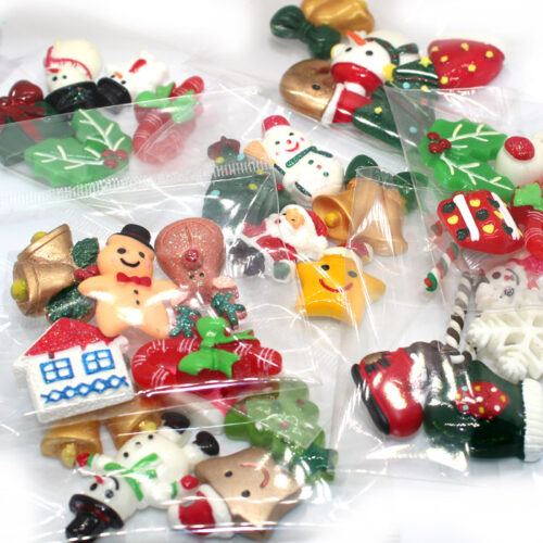 Christmas Slime Charms