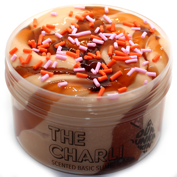 The Charli scented basic slime