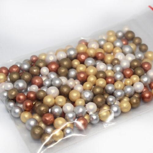 Christmas foam beads