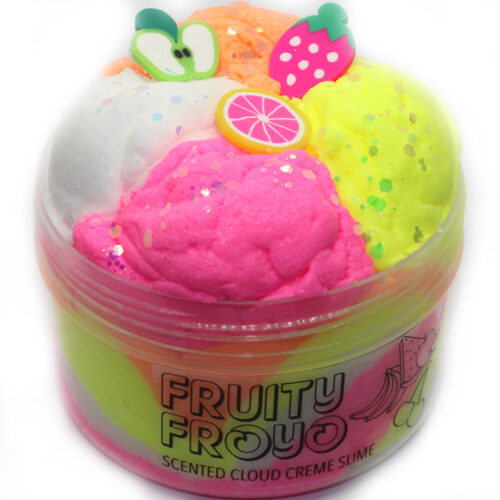 Fruity froyo cloud creme slime scented