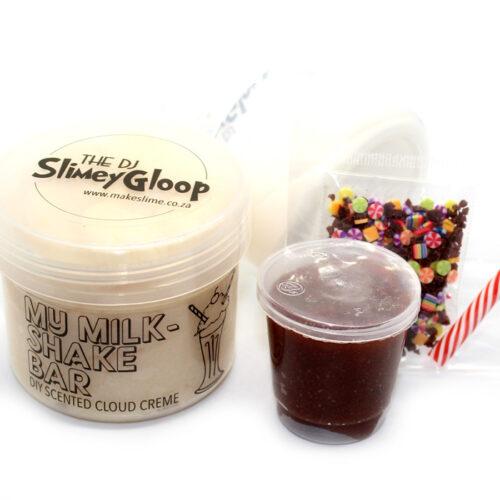 My milkshake bar build it yourself scented cloud creme slime
