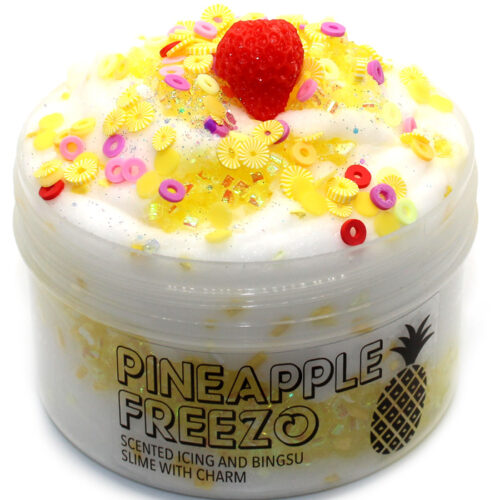 Pineapple freezo scented icing slime