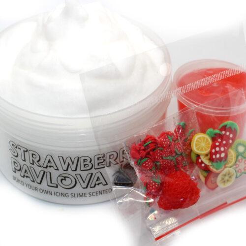 Strawberry pavlova make it yourself icing slime