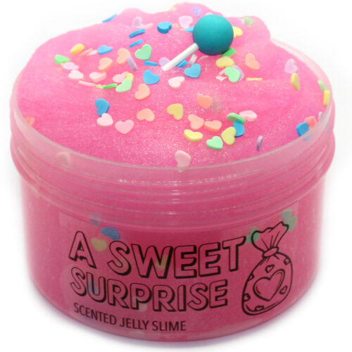 A sweet surprise scented jelly slime